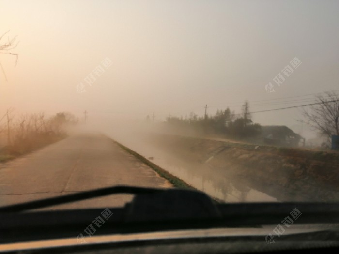 三干渠的雾大不大