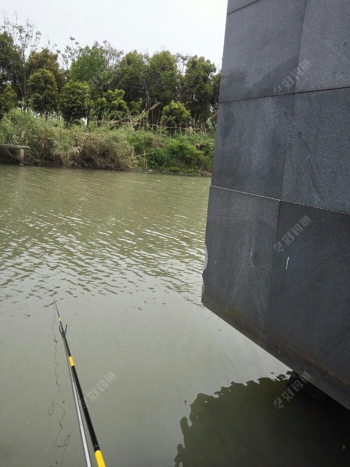右则,一个巨大景观构件,曾让我溜鱼受限,痛失大鲤,建议爱钓大鱼的朋友别选这种钓位。