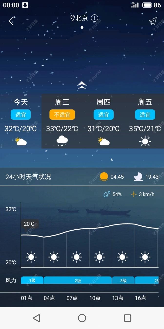 明天雷阵雨
