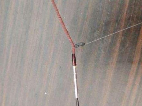 魚線怎么綁在魚竿上?手竿魚線連接竿梢圖解