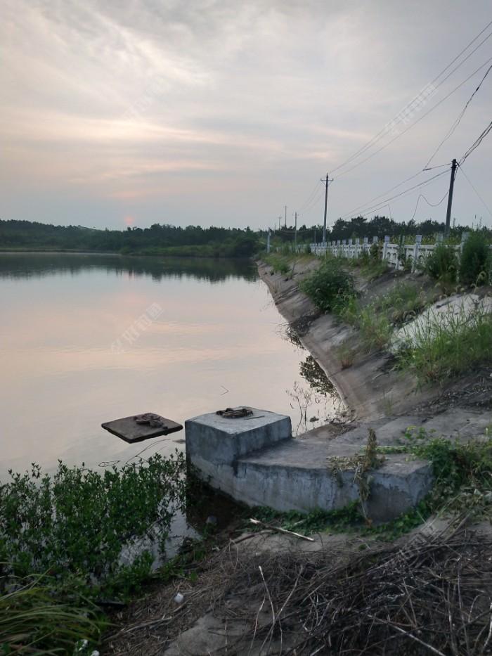 大概半个小时就到达水库了。哇!这水涨了至少1米以上,之前的老钓位都在水中央了。既然来了,总得试过了才甘心的😃