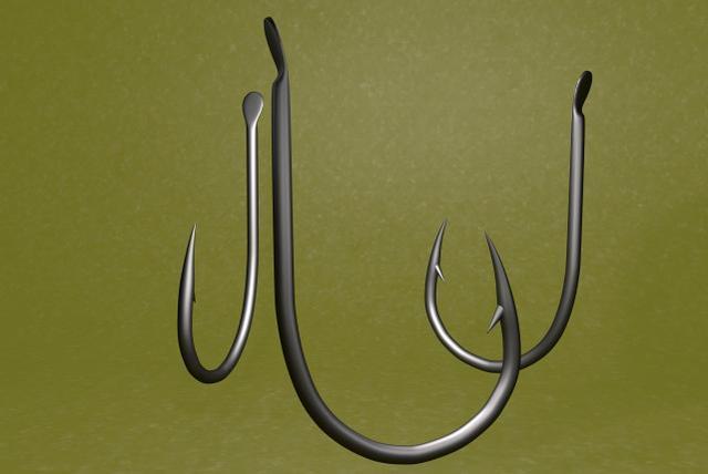 台钓初学者在使用鱼钩上,是选倒刺钩还是无倒刺钩