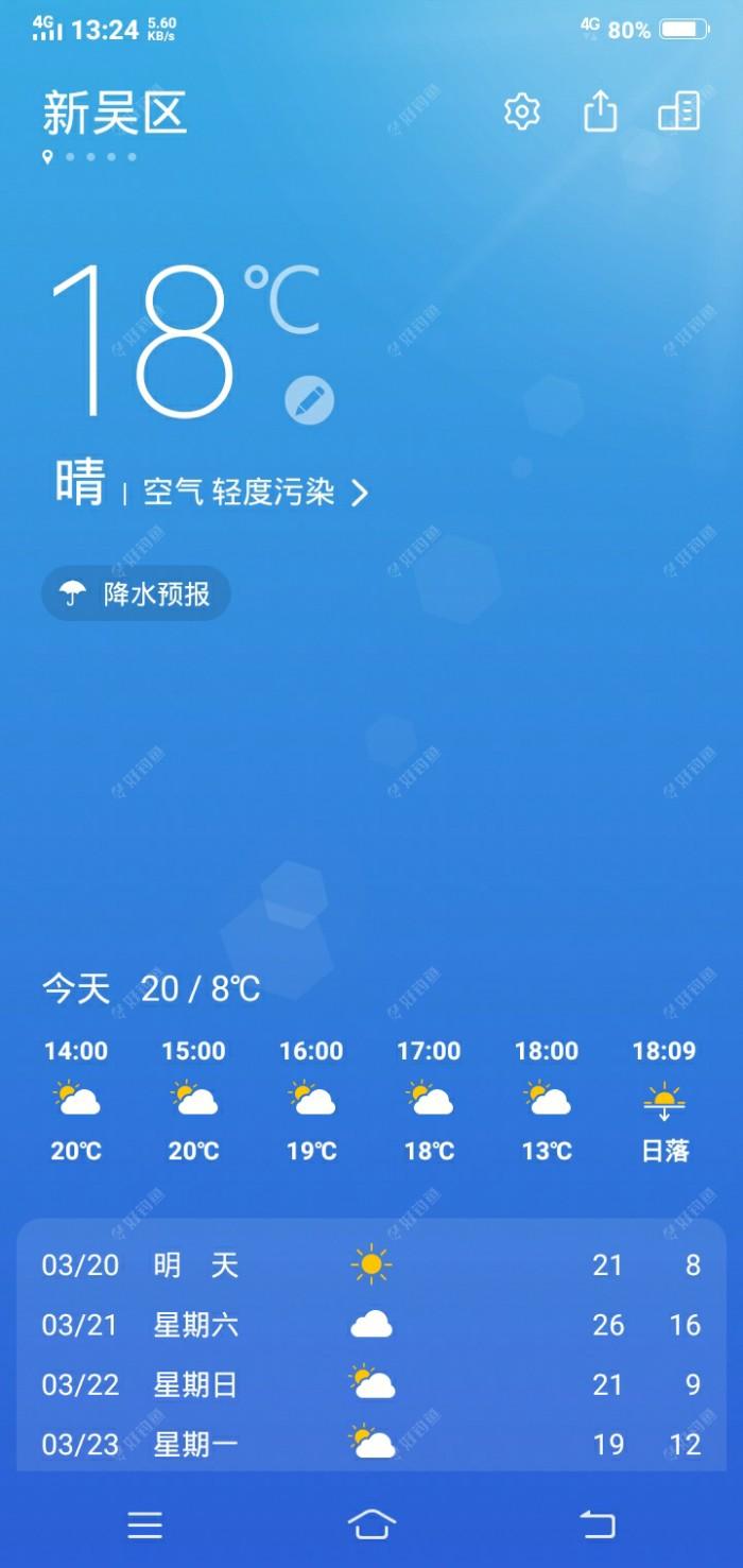 气温也是颇高