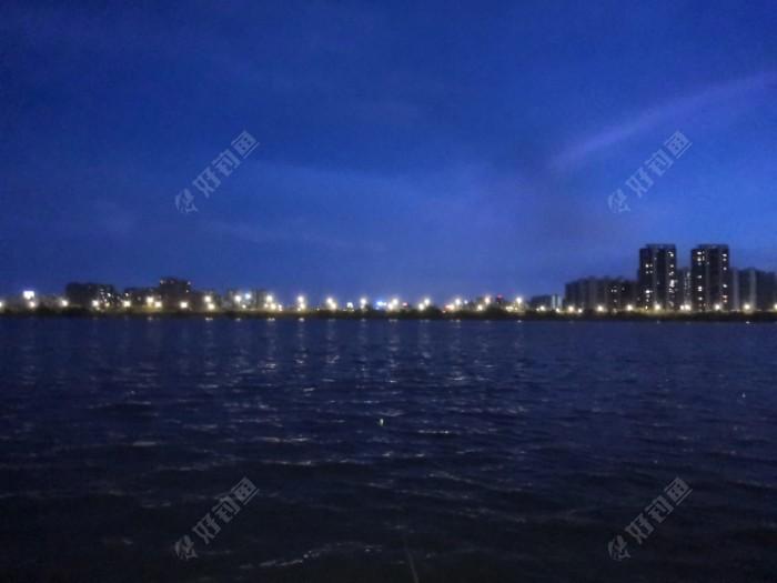 今年的头两次夜钓,豫章大桥附近