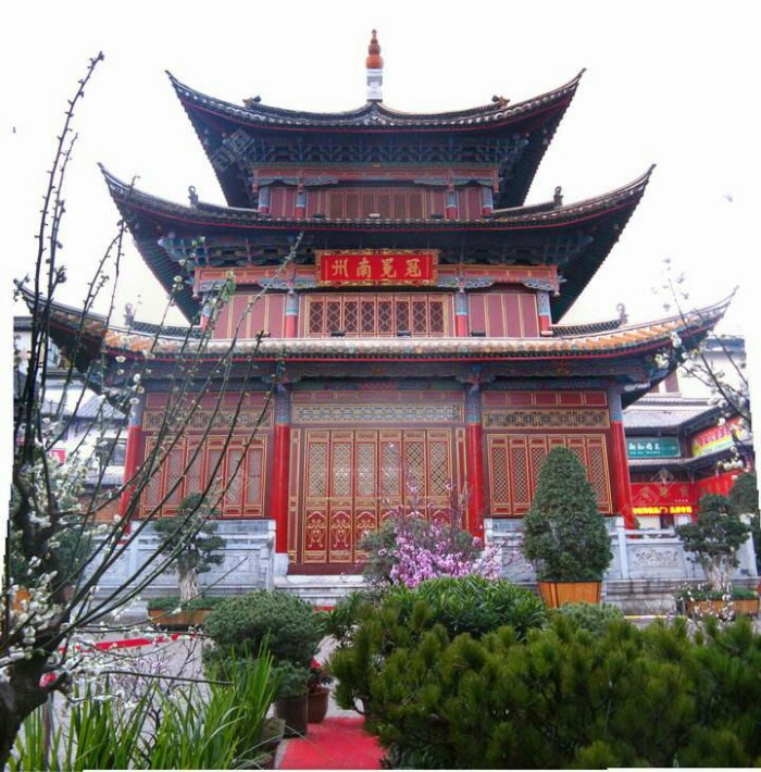 """古城最中心的阁楼,名曰""""聚奎阁"""""""