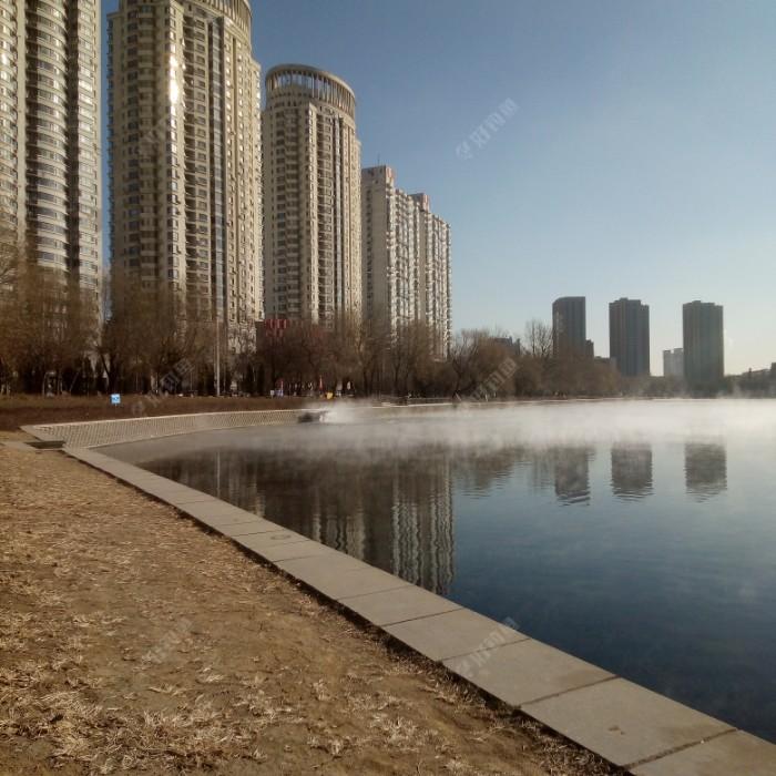 青年公园北岸水情