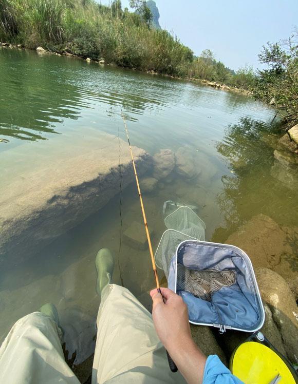 涨水退水都好钓,只是找准地方选对鱼