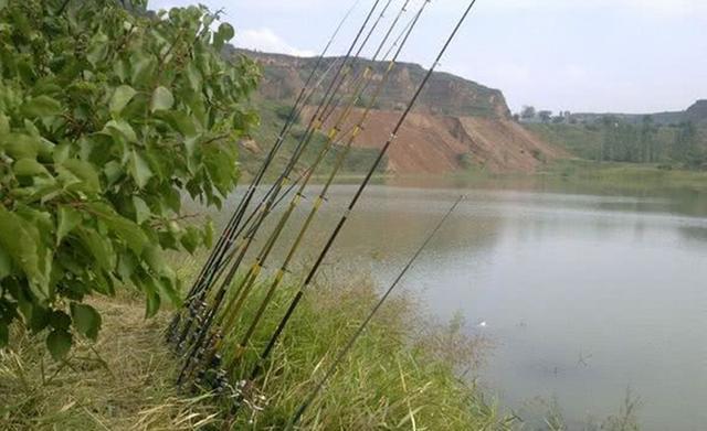 秋季野钓草鱼,用串钩钓浮别钓底(图2)